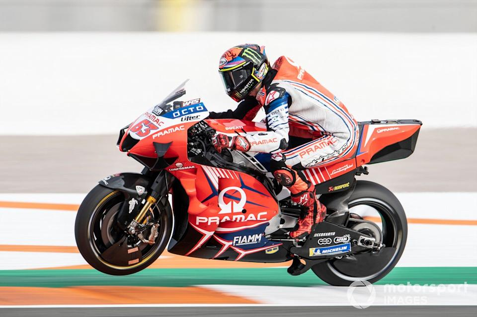 "Francesco Bagnaia, Pramac Racing<span class=""copyright"">Gold and Goose / Motorsport Images</span>"
