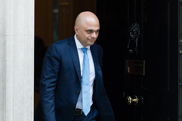 Sajid Javid's row with Boris Johnson reportedly reached its peak because of a nickname given to the former Chancellor (Picture: WIktor Szymanowicz/NurPhoto via Getty Images)