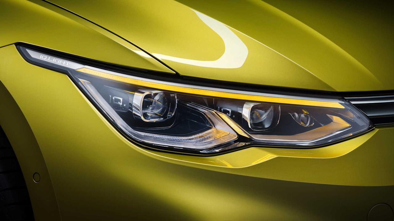 "<p><strong>Matrix LED headlights</strong></p> <p>Audis have had matrix LED headlights for quite a while, but the technology trickled down to the mainstream VW brand only in 2018 with the <a href=""https://www.motor1.com/reviews/242177/2018-volkswagen-touareg-first-drive/"">new Touareg</a> midsize SUV. The facelifted <a href=""https://www.motor1.com/news/304079/2019-vw-passat-europe-reveal/"">Euro-spec Passat</a> received a similar system earlier this year, and now it's the Golf's turn to get the clever lights.</p> <p>Available as an option, the ""IQ.LIGHT LED"" matrix headlights features 22 individual LEDs per each headlight matrix module that can light up automatically in up to ten different ways, depending on the Golf trim. There's something called a ""sliding turn indicator function"" debuting on the Golf and making the most out of the wide LED strip to boost safety since it's more visible than a regular turn signal.</p><h2>The VW Golf 8 is finally here:</h2><ul><li><a href=""https://uk.motor1.com/news/378198/2020-vw-golf-8-livestream/?utm_campaign=yahoo-feed"">2020 VW Golf 8 debuts today: See the livestream here</a></li><br></ul>"
