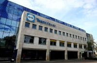 FILE PHOTO: The headquarters of the German company Team Viewer is seen in Goeppingen