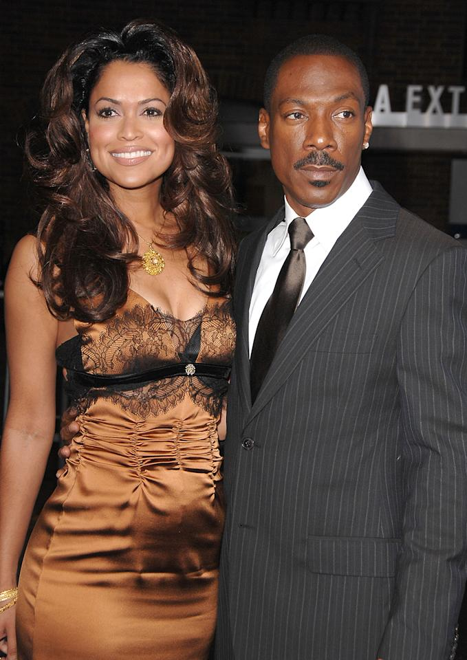 "Eddie Murphy, who won a Golden Globe for playing a soul singer in ""Dreamgirls,"" was married only two weeks before calling it quits. He exchanged vows with film producer Tracey Edmonds on Jan. 1, 2008, in Bora Bora (since the wedding took place in a foreign country, it was purely ceremonial, not legal). By Jan. 16, they released a statement: ""After much consideration and discussion, we have jointly decided that we will forgo having a legal ceremony as it is not necessary to define our relationship further."""