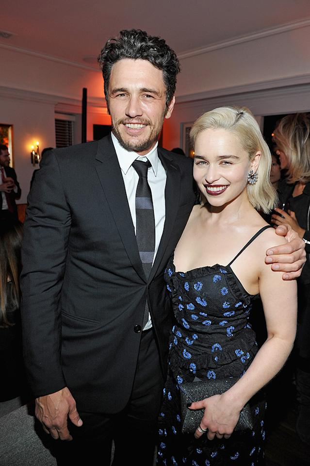 <p>The rumored exes reunited at <em>W</em> magazine's celebration of its Best Performances portfolio on Thursday. Back in 2013, there were whispers that Franco and the <em>Game of Thrones</em> star were quietly dating, altthough they were never photographed together. We have to admit they make quite the pretty pair! (Photo: Donato Sardella/Getty Images for W Magazine) </p>
