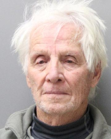 Patrick Jiron, 83, of Clearlake Oaks, California is pictured in York County, Nebraska, U.S. in this police booking photo.     York County Sheriff's Department/Handout via REUTERS