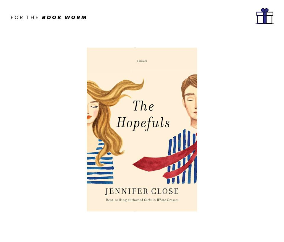 """<p>A fantastic read about the journey a New York city couple takes when they shift gears and move to Washington D.C. for a new job in the Obama White House. What lies ahead will keep you flipping its pages until the very end. The Hopefuls by Jennifer Close, $27, <a href=""""http://www.penguinrandomhouse.com/books/251520/the-hopefuls-by-jennifer-close/9781101875612/"""" rel=""""nofollow noopener"""" target=""""_blank"""" data-ylk=""""slk:penguinrandomhouse.com"""" class=""""link rapid-noclick-resp"""">penguinrandomhouse.com</a> </p>"""