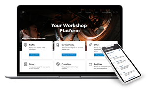 Repdate is a powerful workshop booking platform that can be easily integrated into existing solutions