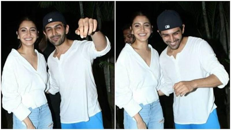 Anushka Sharma and Kartik Aaryan Twinning in Blue and White at India's Most Wanted Special Screening Is Everything Summer-Friendly!
