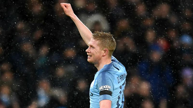 Guardiola: 'Clever' De Bruyne crucial for Man City
