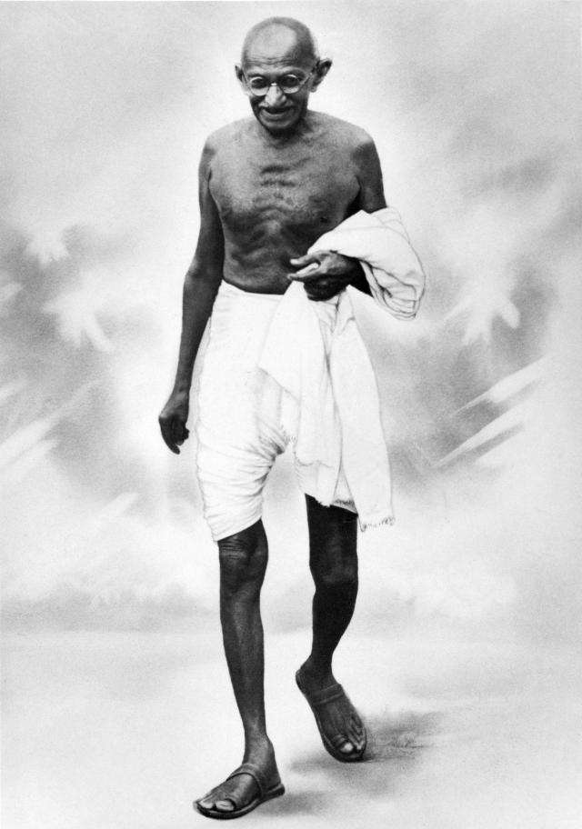 INDIA - JANUARY 01: The Mahatma GANDHI in the 1920's. (Photo by Keystone-France/Gamma-Keystone via Getty Images)