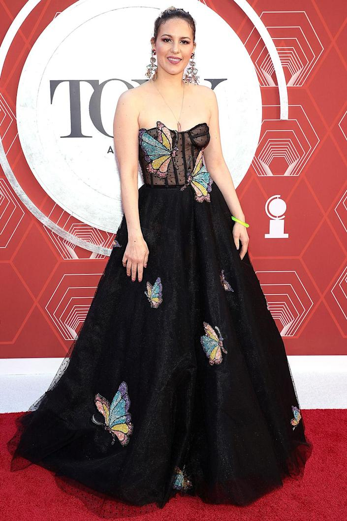 <p>Acevedo gave us all butterflies while walking the red carpet. </p>