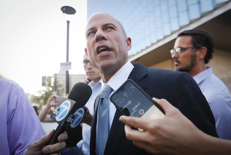 """Michael Avenatti says he's not the only person who could beat Trump in 2020 """"but it is a short list."""" (Photo: Mario Tama via Getty Images)"""
