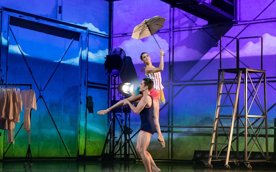 Javier Andreu and Sophie Martin in Starstruck - Andy Ross