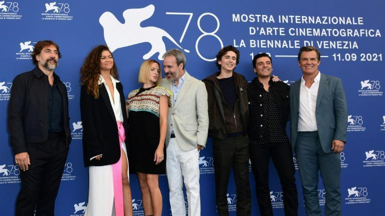 The stars were out in force for the premiere of 'Dune' on Friday (AFP/Miguel MEDINA)