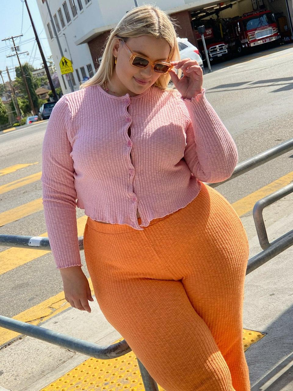 """<br><br><strong>Lisa Says Gah</strong> Poppy Cardi, Pink, $, available at <a href=""""https://go.skimresources.com/?id=30283X879131&url=https%3A%2F%2Flisasaysgah.com%2Fcollections%2F30-off-tops%2Fproducts%2Fpoppy-cardigan-pink"""" rel=""""nofollow noopener"""" target=""""_blank"""" data-ylk=""""slk:Lisa Says Gah"""" class=""""link rapid-noclick-resp"""">Lisa Says Gah</a>"""