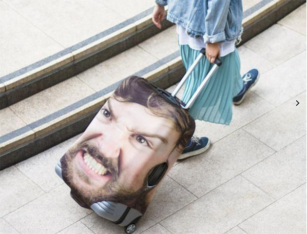 If you're sick of losing your luggage, you need to get the Head Case. Photo:Firebox