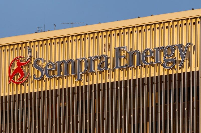 The Sempra Energy building is pictured in San Diego