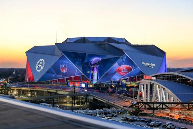 Victims say they were promised premium seats for Sunday's Super Bowl. (Getty)
