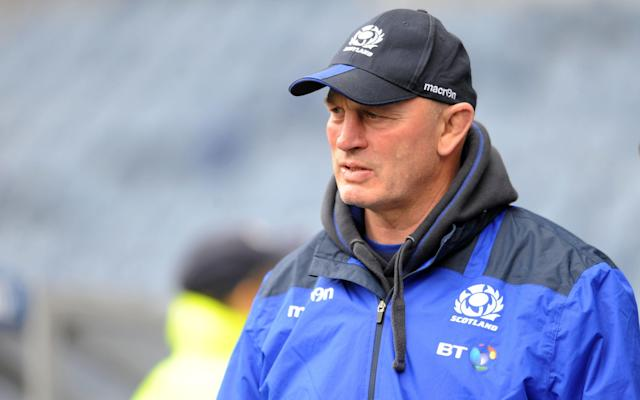 <span>Vern Cotter prepares to take charge of his final game as Scotland's head coach at Murrayfield today</span> <span>Credit: Fotosport/REX/Shuttershock </span>