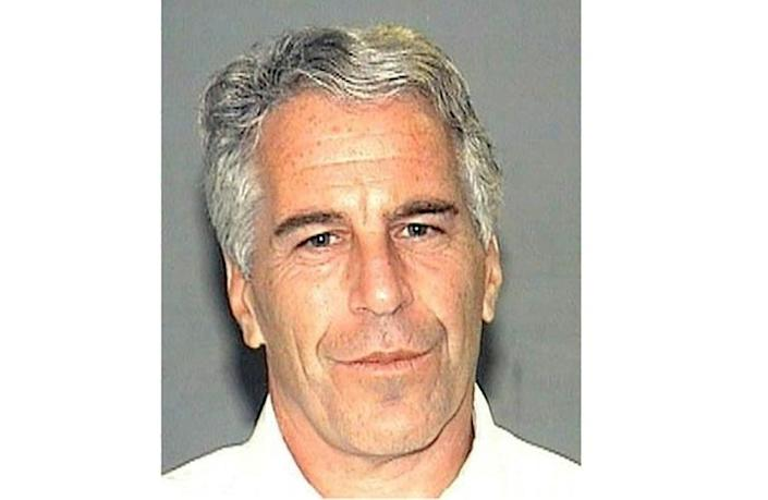 New York financial regulators have fined Deutsche Bank over its relationship with convicted sex offender Jeffrey Epstein, seen here in an undated handout photo obtained July 8, 2019, courtesy of the Palm Beach County Sheriff's Department (AFP Photo/HO)