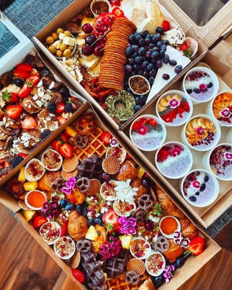 """<p>From huge pancake platters to colourful brunches and everything in between, caterer Stav Gal brings you Instagram-worthy food as you've never seen it before.</p><p>Whether you want an entire grazing table or just a beautifully decorated pavlova to really elevate proceedings, she can deliver, and the options are endless. </p><p>Forget scotch eggs and mini rolls, take your next picnic to new levels. </p><p><a class=""""body-btn-link"""" href=""""http://theartisancookery.co.uk/boxedcatering/"""" target=""""_blank"""">SHOP HERE</a></p>"""