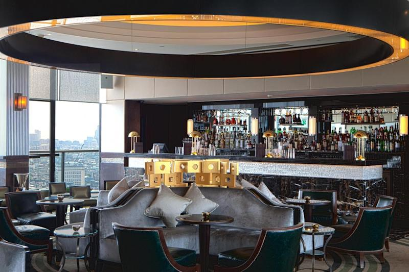 Sky high dining: Galvin at Windows