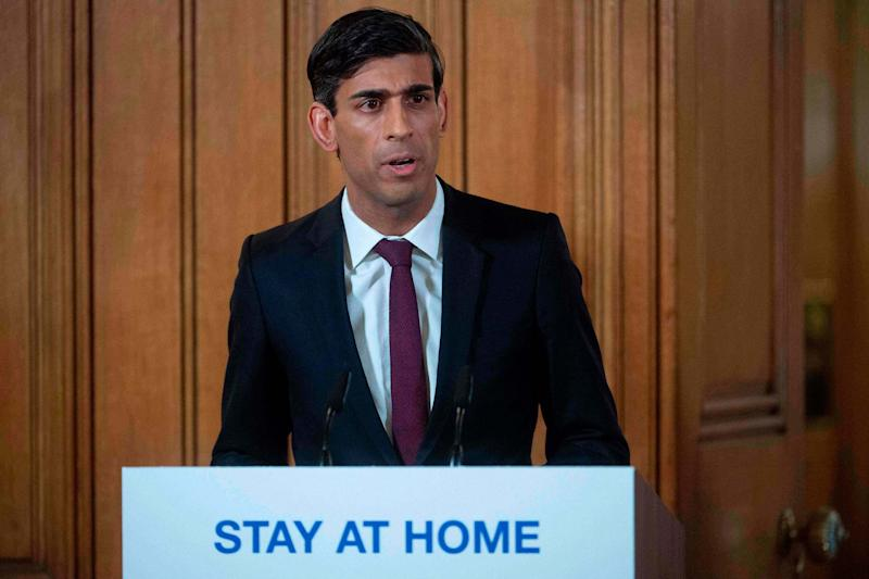 Chancellor of the Exchequer Rishi Sunak: POOL/AFP via Getty Images