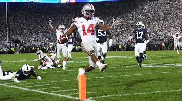 Ohio State is in the driver's seat in the Big Ten after Saturday's action. (Getty)