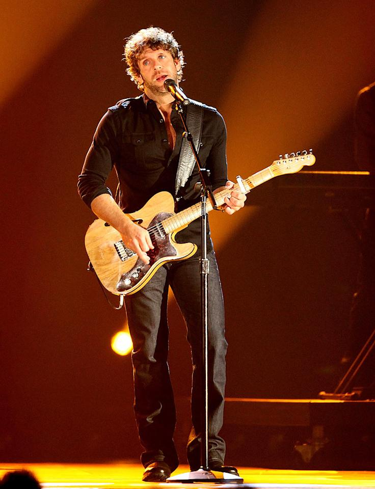 """We're predicting that one day soon country crooner Billy Currington will snag a little lady of his own by serenading her with a love song. Tony R. Phipps/<a href=""""http://www.filmmagic.com/"""" target=""""new"""">FilmMagic.com</a> - November 11, 2009"""