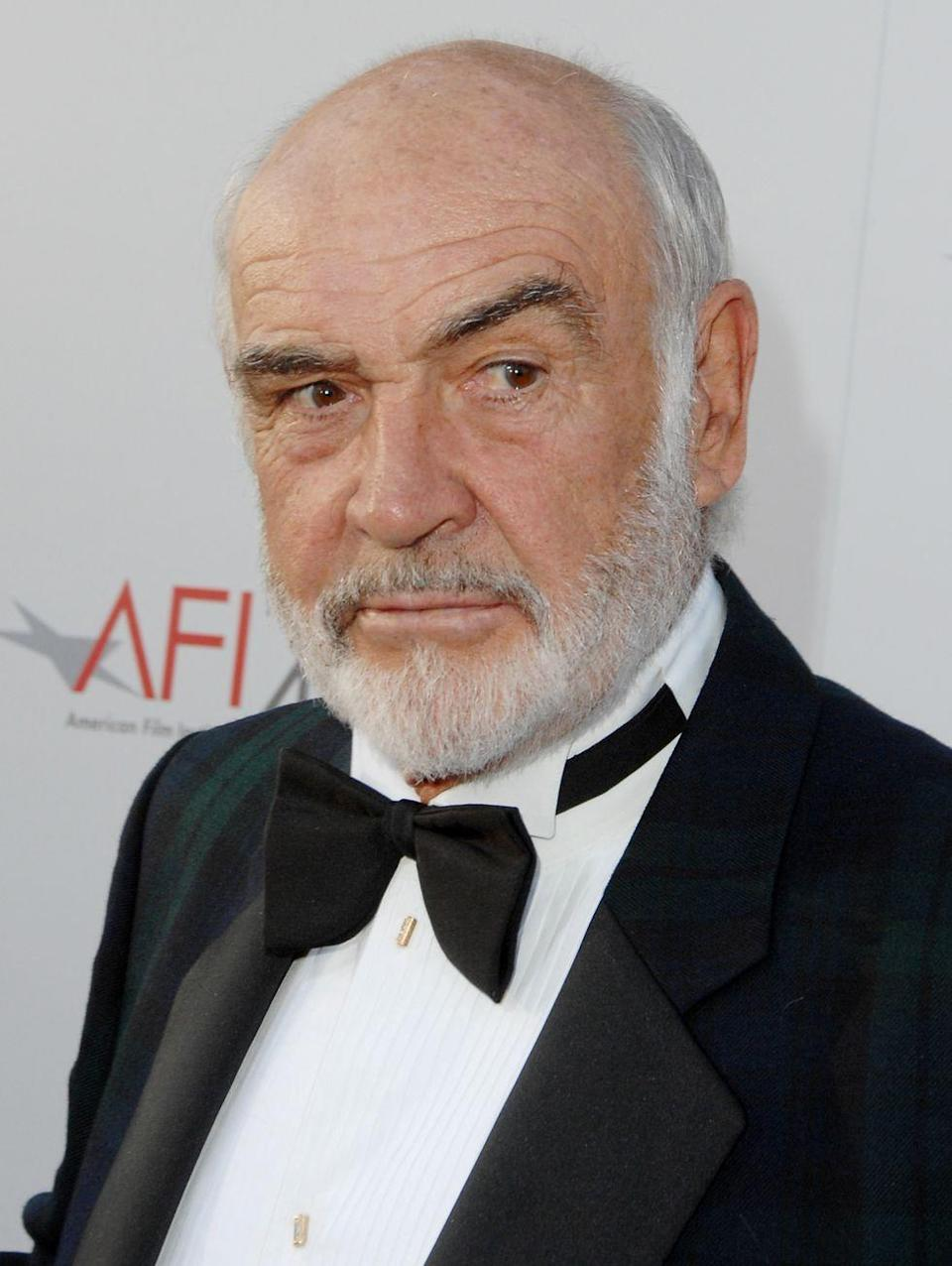 <p>Connery during 35th Annual AFI Life Achievement Award Honoring Al Pacino in 2007. </p>