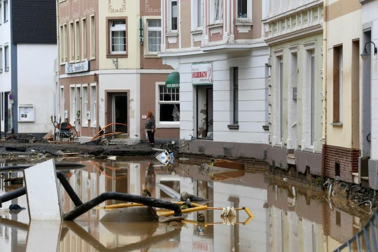 """The torrent was dubbed the """"flood of death"""" by German media"""