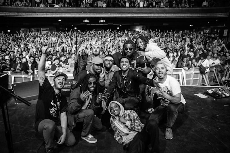 Anderson .Paak with The Free Nationals and The Internet at Kentish Town Forum: Anderson .Paak/Twitter