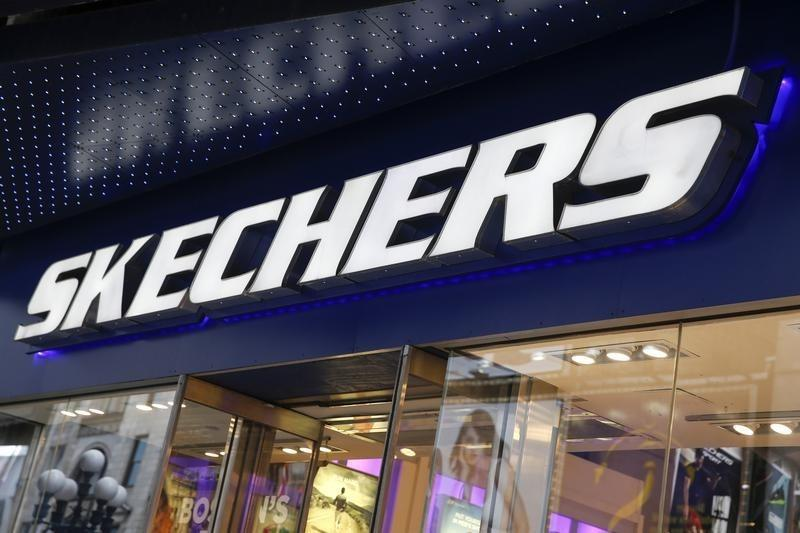 48e0deb01c3 The outside of a Skechers shoe store is seen at Times Square in New York