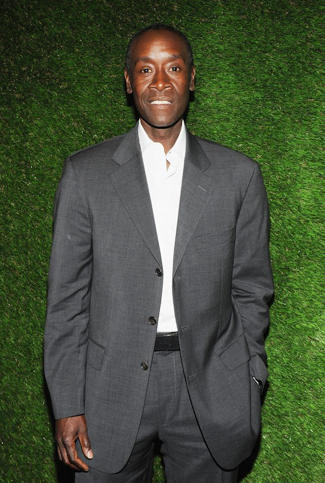 NEW YORK, NY - APRIL 18:  Don Cheadle, actor and UNEP Goodwill Ambassador attends ENVISION 2012: Stories for a Sustainable Future at the Hilton New York on April 18, 2012 in New York City.  (Photo by Slaven Vlasic/Getty Images)