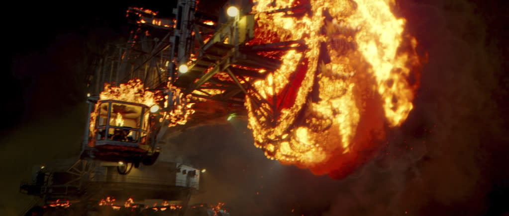 """Columbia Pictures' <a href=""""http://movies.yahoo.com/movie/ghost-rider-spirit-of-vengeance/"""">Ghost Rider: Spirit of Vengeance</a> - 2012"""