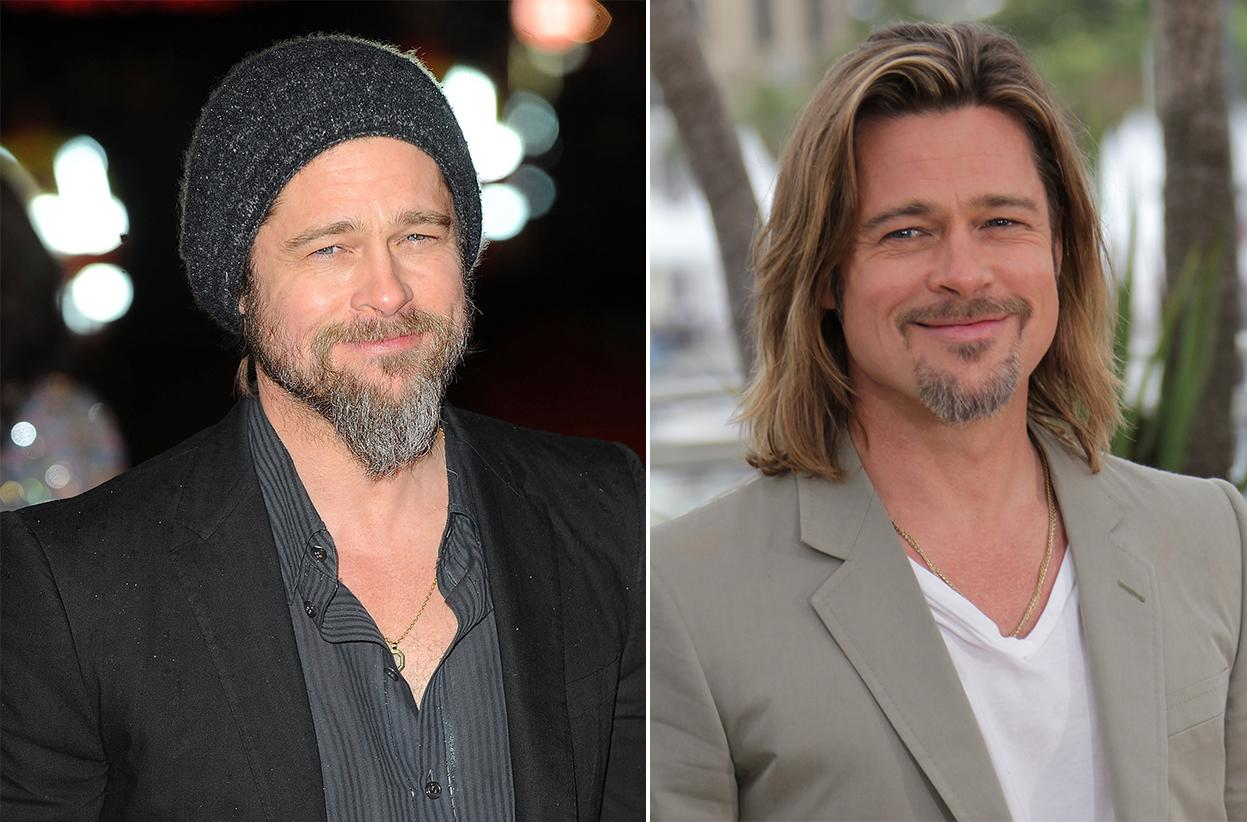 "Brad Pitt, who won last year for ""Moneyball,"" finally emerged from his hobo phase."