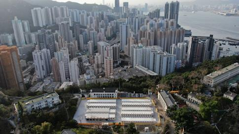 Lei Yue Mun Park and Holiday Village in Chai Wan will be used to host Covid-19 patients in a stable condition. Photo: Martin Chan