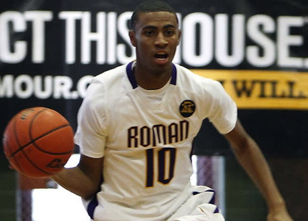 Roman Catholic star Rashann London, who likes his cheesesteak with only salt, pepper and ketchup — Philadelphia Daily News