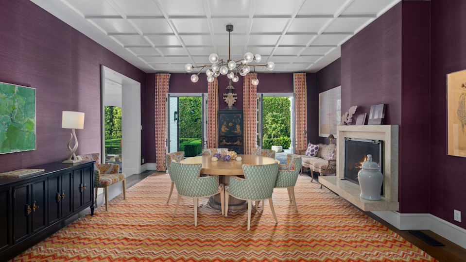 The dining room. - Credit: Willis Allen Real Estate/Forbes Global Properties