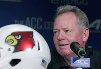 How will things go in Bobby Petrino's second Louisville stint? (AP Photo)