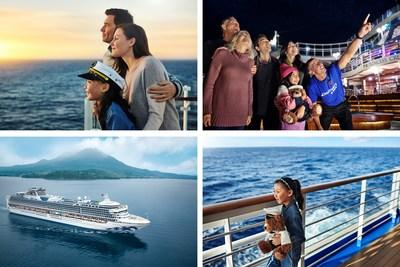 Princess Cruises Launches First Advertising Campaign for Asia and Emerging International Markets