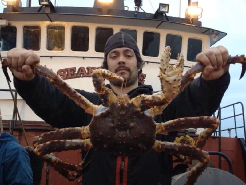 Mahlon Reyes, de 'Pesca Radical' (Discovery Channel) (Photo: YOUTUBE)