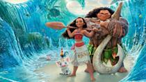 """<p>disneyplus.com</p><p><a href=""""https://go.redirectingat.com?id=74968X1596630&url=https%3A%2F%2Fwww.disneyplus.com%2Fmovies%2Fmoana%2F70GoJHflgHH9&sref=https%3A%2F%2Fwww.redbookmag.com%2Flife%2Fg34929170%2Fbest-disney-movie1%2F"""" rel=""""nofollow noopener"""" target=""""_blank"""" data-ylk=""""slk:WATCH NOW"""" class=""""link rapid-noclick-resp"""">WATCH NOW</a></p><p>The most recent Walt Disney Animation Studios film that isn't a sequel, <em>Moana</em> is about the adventurous teenage daughter of a Polynesian village chief. To help save her village, she must set sail across the ocean to find the demigod Maui (voiced by Dwayne Johnson) and return an ancient stone to the goddess Te Fiti. With music by Lin-Manuel Miranda, this movie is one of the most fun and original stories Disney has told in years.</p>"""