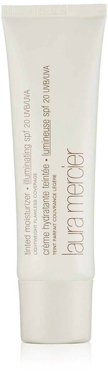 "For an even more bare-skinned look, try a tinted moisturizer with SPF instead of foundation. You can also mix it with your regular foundation to achieve a more luminous, lightweight effect than you would with foundation alone. $44, Laura Mercier Tinted Moisturizer SPF 20. <a href=""https://shop-links.co/1674788198538261062"" rel=""nofollow noopener"" target=""_blank"" data-ylk=""slk:Get it now!"" class=""link rapid-noclick-resp"">Get it now!</a>"