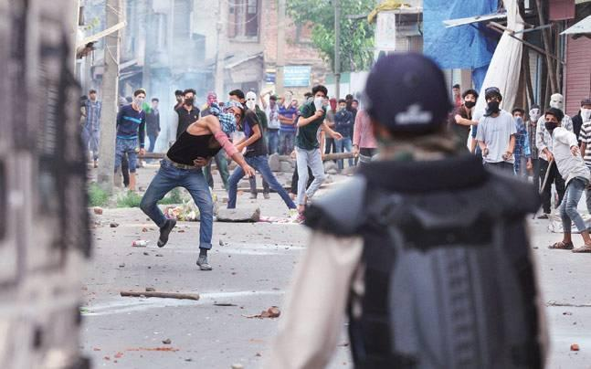 J-K minister triggers row, says bullets only way to deal with stone pelters in Kashmir