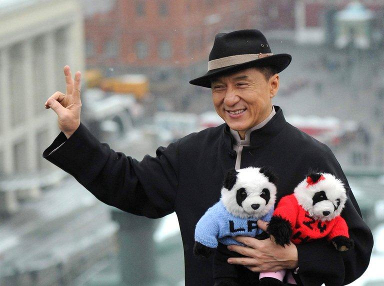 Hong Kong action film star Jackie Chan, pictured during a visit to Moscow, on December 6, 2012
