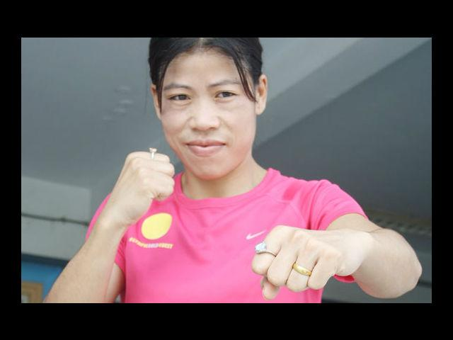 """<h4>9. Mary Kom</h4> <p><strong>Age: 30</strong></p> <p>Recently awarded the third highest civilian award, the Padma Bhushan, <a href=""""https://ec.yimg.com/ec?url=http%3a%2f%2fwww.mensxp.com%2fspecial-features%2ftop-10%2f7153-10-things-you-didnt-know-about-mary-kom.html%26quot%3b%26gt%3bMary&t=1506391967&sig=Xfclisjb0FWe98Ijs6g9xw--~D Kom</a> has been a force to reckon with in Indian sports. In a country where not too many women are encouraged to take up sports, Mary Kom is a shining example of how much women can achieve. Despite being a mother she followed her passion for boxing and has, today, inspired thousands of young girls to carve out their own success stories.</p>"""