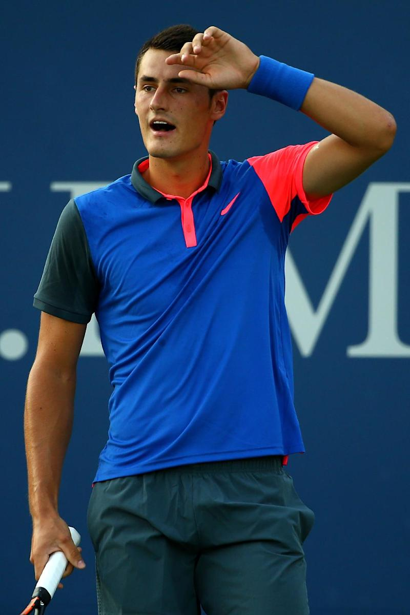 Tennis - Aussie Tomic pulls out of US Open