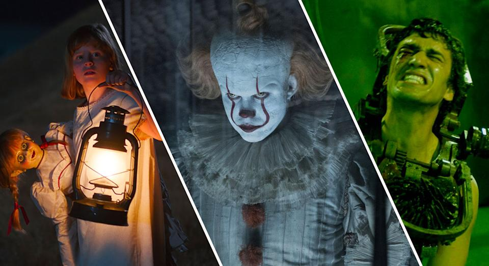 Annabelle Creation, It: Chapter Two, Saw II (credit: Warner Brothers, Lionsgate)