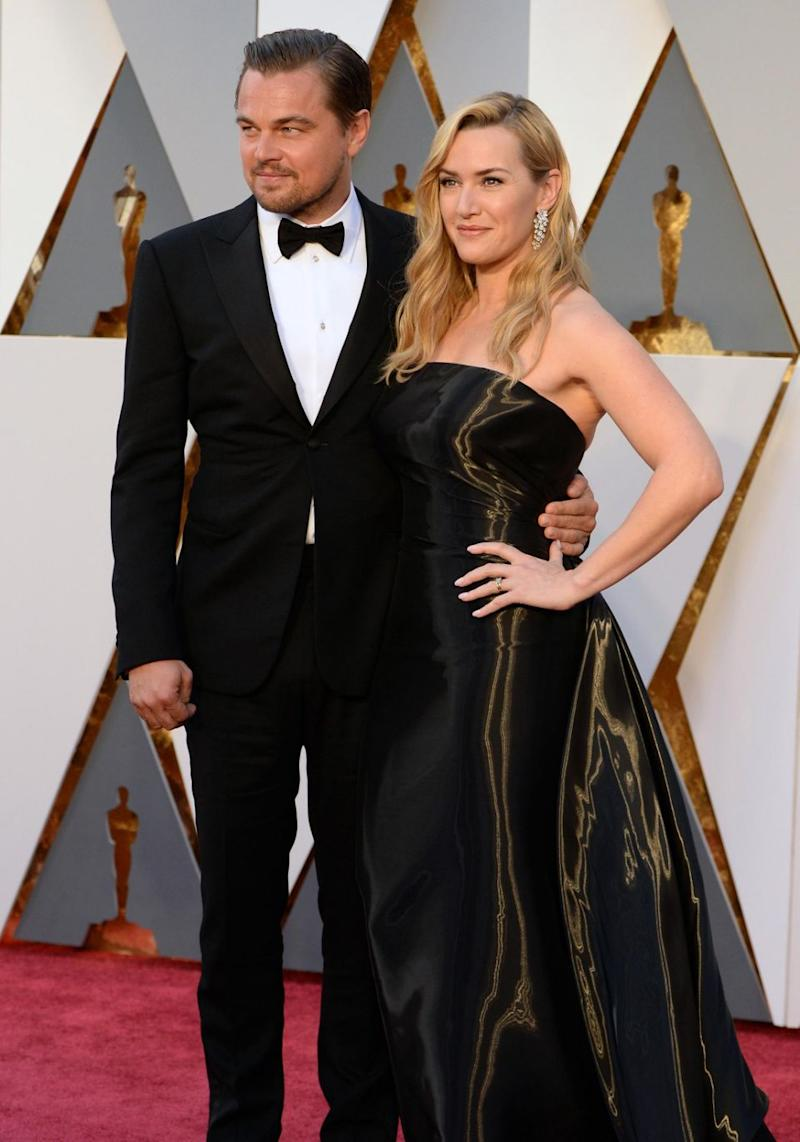 The pair have the most platonic relationship in Hollywood but rumours have been swirling for years that they have more than just a friendship. Sadly not, Kate and Leo have just remained very good friends over the years. They are pictured here at the 2016 Academy Awards together. Source: Getty