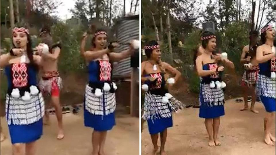 <span>San Diego Zoo Safari Park</span> came under fire after a Maori dance was performed to open an Australian exhibit. Source: Facebook / San Diego Zoo