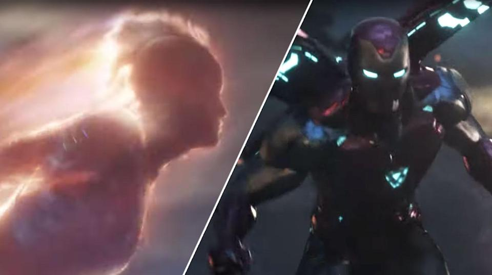 The latest <i>Endgame</i> trailer is an epic recap of the MCU so far, with some new bits thrown in. (Disney/YouTube)